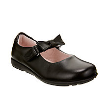 Buy Lelli Kelly Charlotte Leather School Shoes, Black Leather Online at johnlewis.com