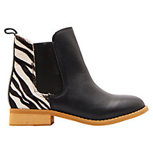 Buy Joules Children's Chelsea Boots, Black Online at johnlewis.com
