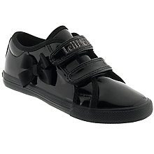 Buy Lelli Kelly Lilly School Shoes, Black Patent Online at johnlewis.com
