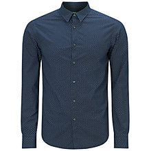 Buy BOSS Green C-Briar Shirt, Navy Online at johnlewis.com
