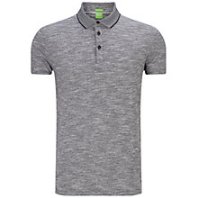 Buy BOSS Green C-Rapino Polo Shirt, Grey Online at johnlewis.com