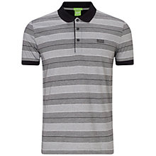 Buy BOSS Green C-Firenze Polo Shirt, Grey Online at johnlewis.com