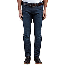 Buy BOSS Orange Orange71 Extra Slim Fit Jeans, Dark Blue Online at johnlewis.com