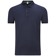 Buy BOSS Green C-Genova Polo Shirt, Navy Online at johnlewis.com