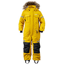 Buy Didriksons Children's Migisi Waterproof Coverall, Sunburst Online at johnlewis.com