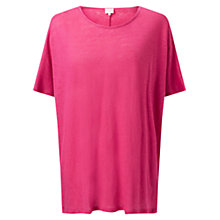 Buy East Azalea Linen Top, Azalea Online at johnlewis.com