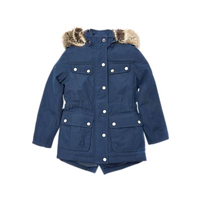 Barbour International Girls Impeller Jacket Navy