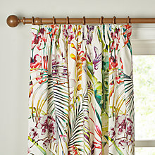 Buy Harlequin Paradise Lined Pencil Pleat Curtains, Multi Online at johnlewis.com