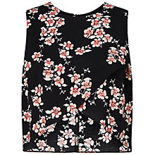 Buy Miss Selfridge Blosson Wrap Shell Top, Multi Online at johnlewis.com