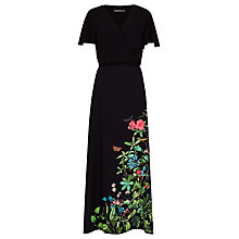 Buy Sugarhill Boutique Blyth Garden Maxi Dress, Black Online at johnlewis.com