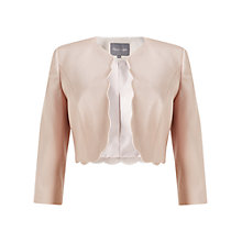 Buy Phase Eight Florence Scallop Jacket, Blush Online at johnlewis.com