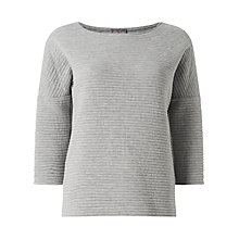 Buy Phase Eight Ophelia Rib Top Online at johnlewis.com