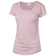 Buy Fat Face Satin Insert T-Shirt Online at johnlewis.com