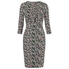 Buy Whistles Ferrie Twist Front Dress, Multi Online at johnlewis.com