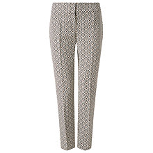 Buy Phase Eight Erica Hexagon Print Trousers, Multi Online at johnlewis.com