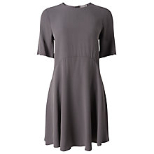 Buy Phase Eight Zola Swing Dress, Charcoal Online at johnlewis.com