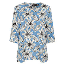 Buy Sugarhill Boutique Suze Daisy Top, Blue/White Online at johnlewis.com
