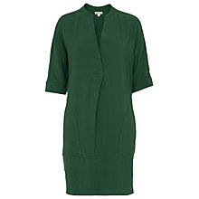 Buy Whistles Lulu Dress, Green Online at johnlewis.com