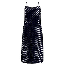 Buy Sugarhill Boutique Rosario Pleat Dress, Navy Online at johnlewis.com