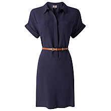 Buy Phase Eight Melissa Belted Tunic Dress, Navy Online at johnlewis.com