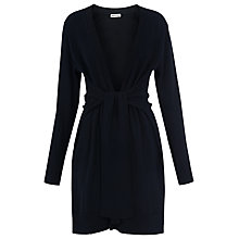 Buy Whistles Tie Cardigan, Navy Online at johnlewis.com