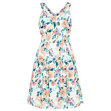 Buy Sugarhill Boutique Isadora Bloom Dress, Peach Online at johnlewis.com