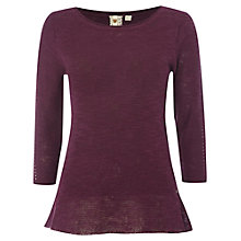 Buy White Stuff Easy Breezy Jumper, Mon Purple Online at johnlewis.com