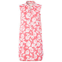 Buy White Stuff Summer Blooms Tunic Top, Strawberry Pink Online at johnlewis.com