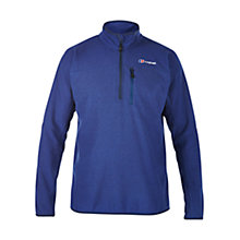 Buy Berghaus Stainton Half Zip Men's Fleece, Blue Online at johnlewis.com