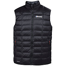 Buy Berghaus Scafell HydroDown Fusion Water-Resistant Men's Gilet, Black Online at johnlewis.com