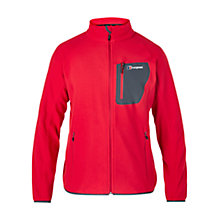 Buy Berghaus Deception Full Zip Men's Fleece, Red Online at johnlewis.com