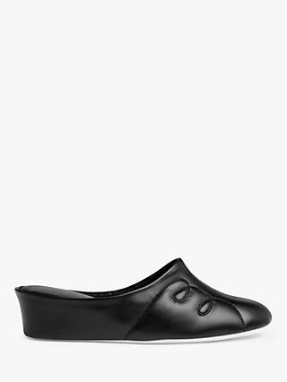 John Lewis & Partners Tricia Leather Mule Slippers