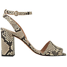 Buy Whistles Medina Block Heeled Sandals Online at johnlewis.com