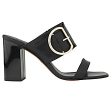 Buy Whistles Fairhope Double Strap Mule Sandals Online at johnlewis.com