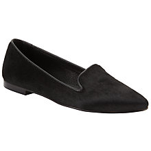 Buy Kin by John Lewis Gabriella Loafers, Black Online at johnlewis.com