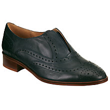 Buy Collection WEEKEND by John Lewis Floria Slip On Brogues, Navy Online at johnlewis.com