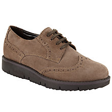 Buy John Lewis Designed for Comfort Fawn Brogues Online at johnlewis.com