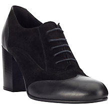 Buy John Lewis Wilda Block Heel Shoe Boots, Black Online at johnlewis.com