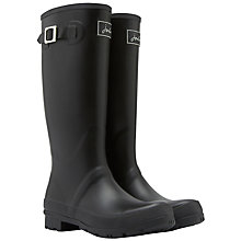 Buy Joules Field Wellington Boots, Black Online at johnlewis.com