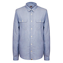 Buy Pretty Green Blyton Long Sleeve Shirt Online at johnlewis.com