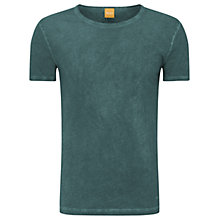 Buy BOSS Orange Tour T-Shirt, Dark Green Online at johnlewis.com