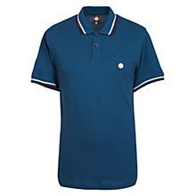 Buy Pretty Green Polo Shirt, Blue Online at johnlewis.com