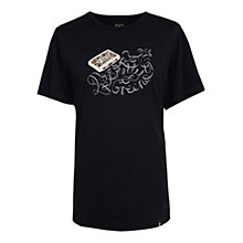 Buy Pretty Green Cassette T-Shirt Online at johnlewis.com