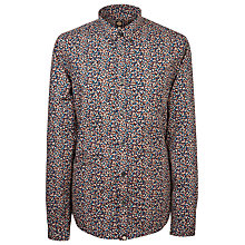 Buy Pretty Green Freeman Shirt, Navy Online at johnlewis.com