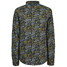 Buy Pretty Green Stretford Print Long Sleeve Shirt Online at johnlewis.com