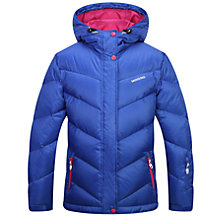 Buy Skogstad Girls' Down Quilted Jacket, Intense Blue Online at johnlewis.com