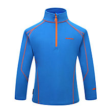 Buy Skogstad Boys' Zip Top, Primary Blue Online at johnlewis.com