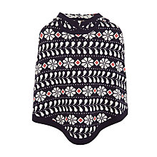 Buy John Lewis Girls' Fair Isle Poncho Online at johnlewis.com