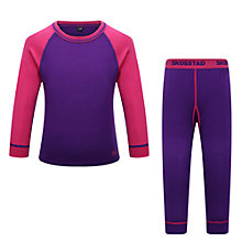 Buy Skogstad Children's Loppa Merino Wool Top and Trouser Set Online at johnlewis.com