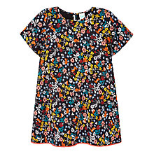 Buy Yumi Girl Rabbits and Robins Dress, Multi Online at johnlewis.com